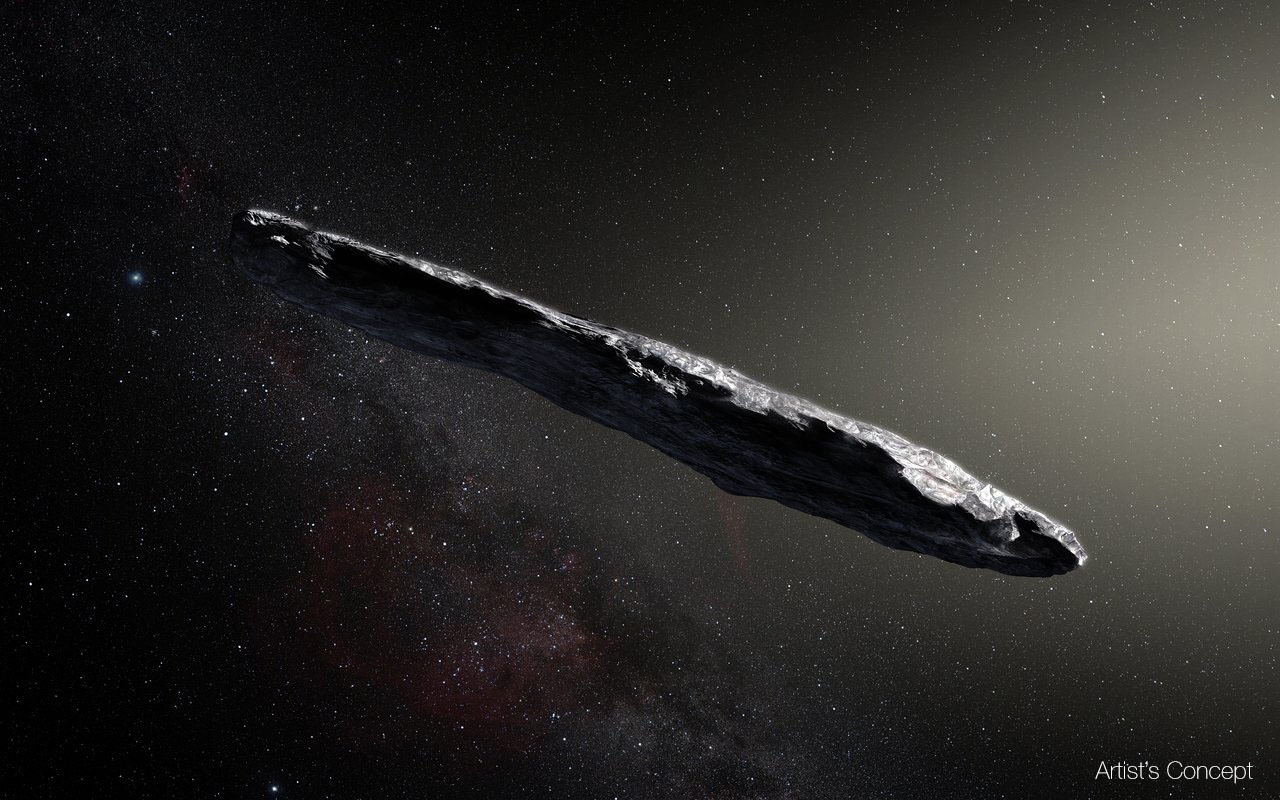 An interesting discovery: Oumuamua a Pluto-like exoplanet